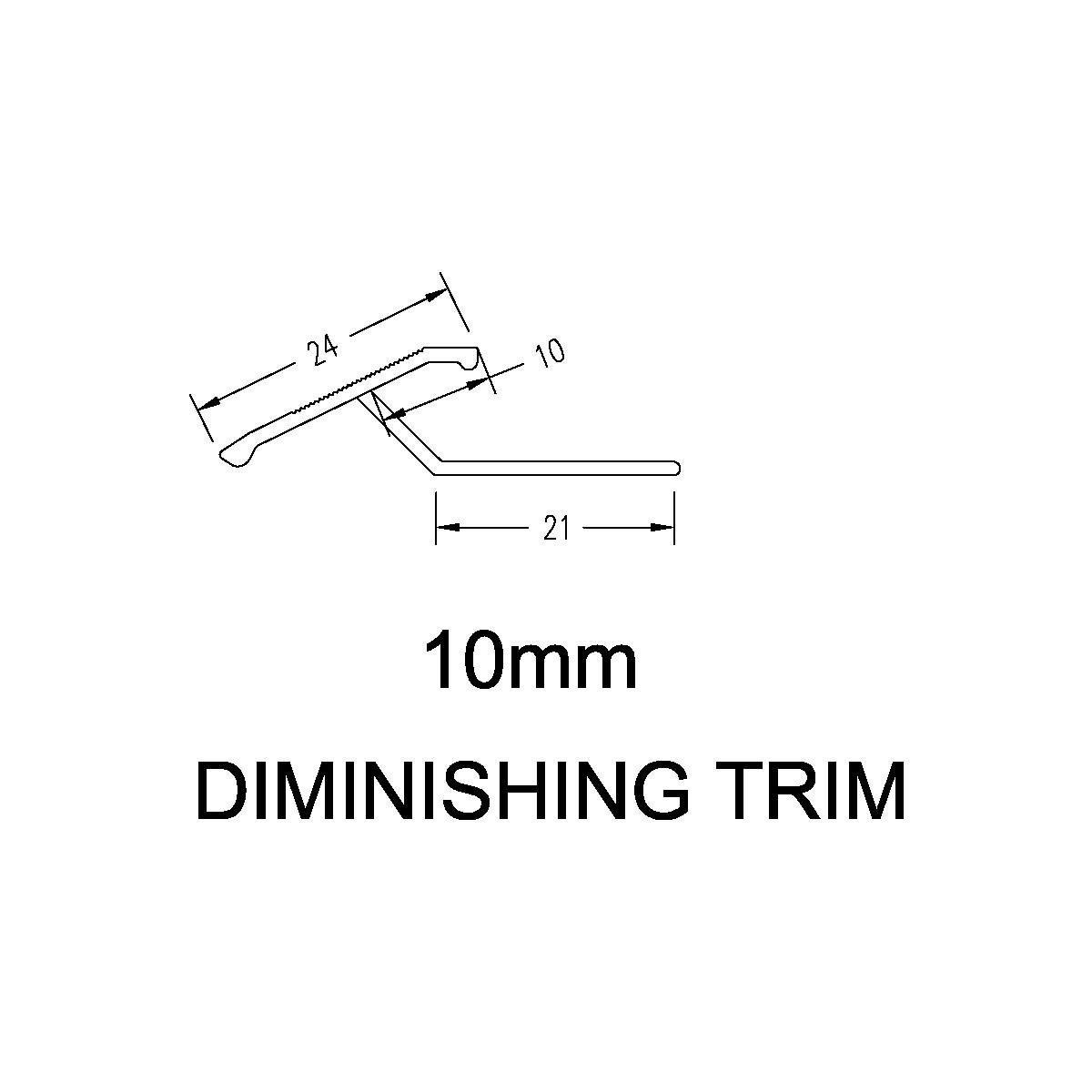 Diminishing Trim – 10mm