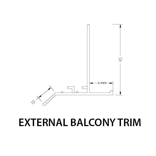 External Balcony Corner