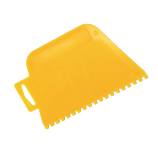 Square Notched Plastic Adhesive Spreader