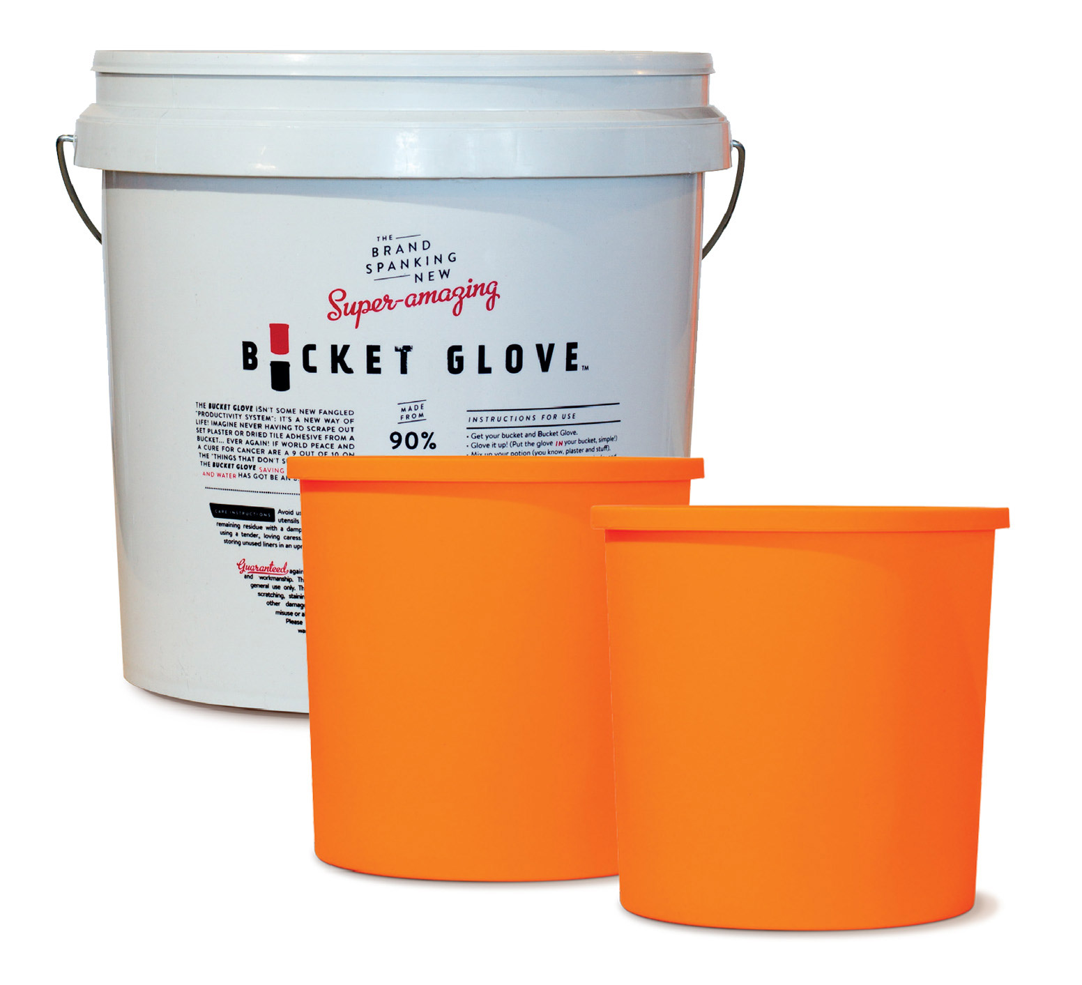 Bucket glove kit